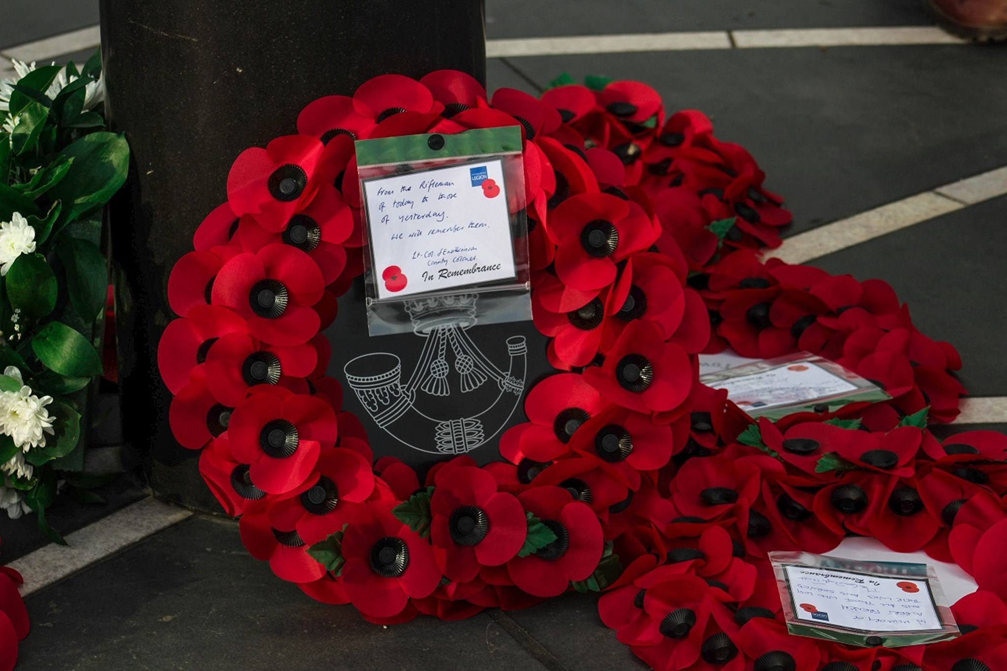 Wreath Laying - Armistice Day 2017 - Edited.jpg